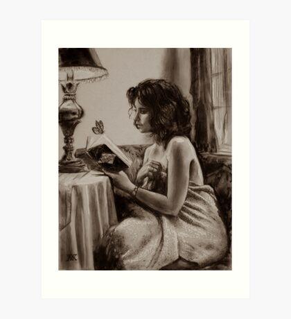 """Garden Poems"" small work Art Print"