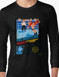 NES PRO WRESTLING Long Sleeve T-Shirt