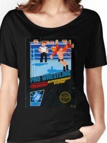 NES PRO WRESTLING Women's Relaxed Fit T-Shirt