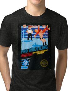 NES PRO WRESTLING Tri-blend T-Shirt