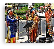 RED INDIANS ?? Canvas Print