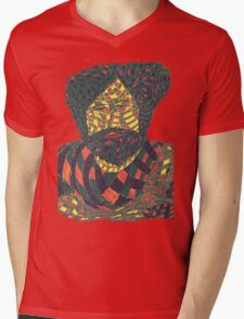 Jerry Garcia 6 Mens V-Neck T-Shirt