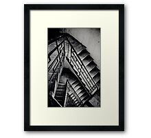the rundown Framed Print