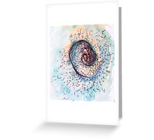 a fearful thought in its moment of glory Greeting Card