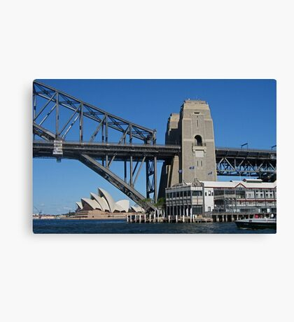 Two Icons (2) Canvas Print