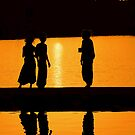 Sunset at Pushkar Lake #2 by Mukesh Srivastava