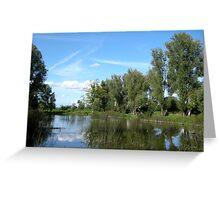 pond Greeting Card