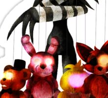 The Puppet Sticker