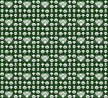 Majora's Pattern - Kokiri Green  by B-Shirts