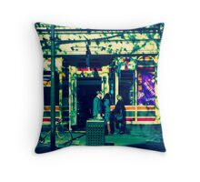 Cornershop Throw Pillow