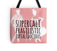Mary Poppins Supercalifragilisticexpialidocious Disney Tote Bag