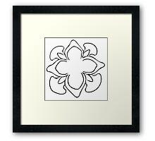 Simple Blossom Framed Print