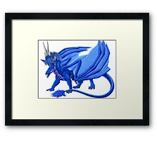 Male Cloud Dragon Framed Print