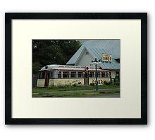 Farmers Diner Framed Print