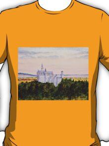 Neuschwanstein Castle Bavaria Germany T-Shirt