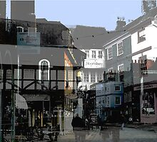 The Buttermarket Canterbury by Liz Findlay