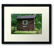 LIttle Brown Shed Framed Print