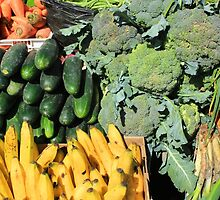 Fruits and Vegetables in Otavalo by rhamm