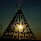 SunSet Tee Pee by tuffcookie