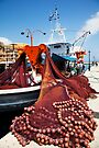 Fiskardo Fishing Boat by Paul Thompson Photography