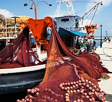 Fiskardo Fishing Boat by Paul Thompson Photography