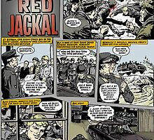 ACTION FORCE: RED JACKEL PAGE 1 COLOURED by morphfix