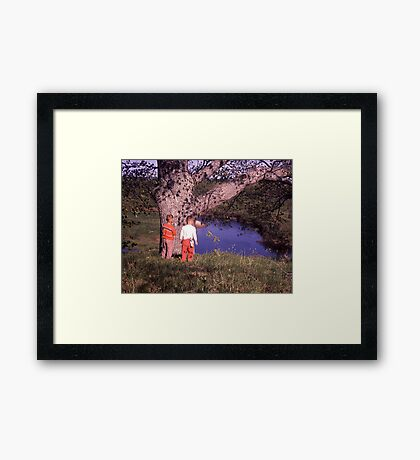 The Travellers Framed Print