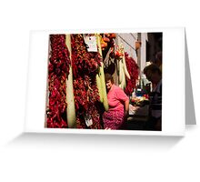 Chilies Greeting Card