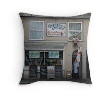 Butchers shop Throw Pillow