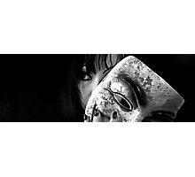 Masked Interpretation Photographic Print