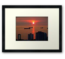 English Bay, Vancouver Framed Print