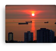 English Bay, Vancouver Canvas Print