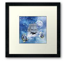 Sailing Framed Print