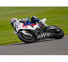 S1000RR, at the Donnington WSB Photographic Print