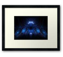 Apex - Tech Fractal Framed Print