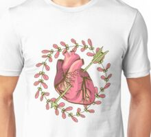 heart anatomical Unisex T-Shirt