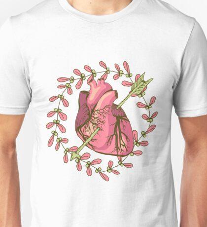 heart anatomical Unisex T-Shirt