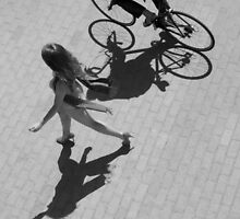 Walking Shadows by pcimages