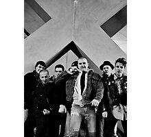 Under The Big X, Boston Crew 1981 Photographic Print