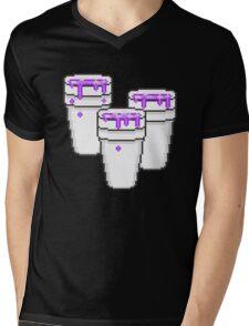 LEAN CUPS Mens V-Neck T-Shirt