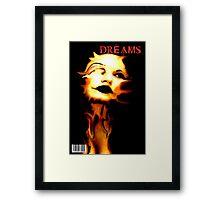 DREAMS COVER Framed Print