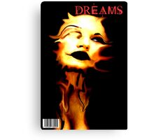 DREAMS COVER Canvas Print