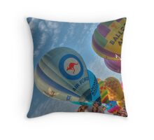 Morning Launch Throw Pillow