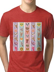 funny animals muzzle Tri-blend T-Shirt