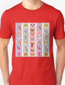 funny animals muzzle T-Shirt