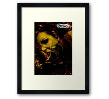 CREEPER COVER Framed Print