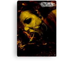 CREEPER COVER Canvas Print