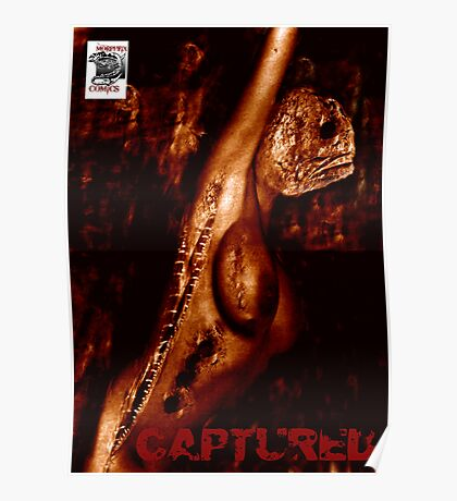 CAPTURED COVER Poster