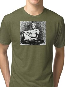 Buddha of Compassion 2 - Design 2 Tri-blend T-Shirt