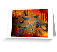 THIEVES IN THE NIGHT Greeting Card